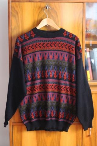 Vintage colorful patterned...