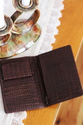 Vintage skórzany brązowy...