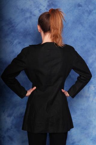 Vintage unique linen black...