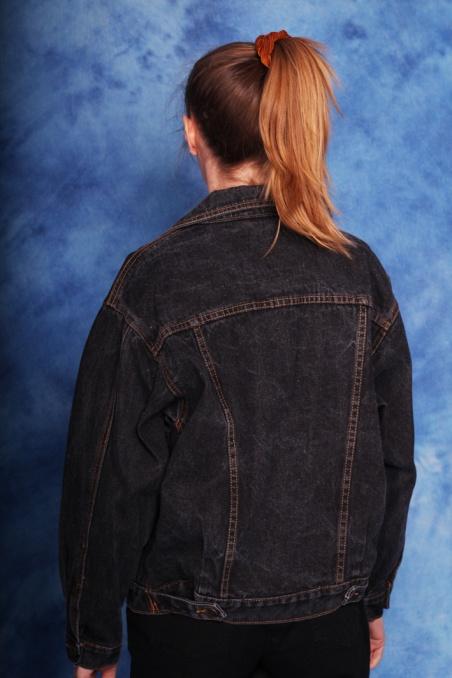 Vintage ciemna kurtka...