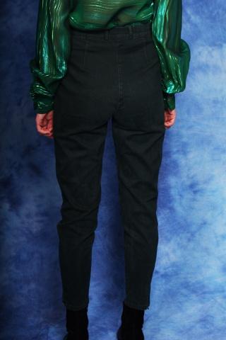 Vintage ciemne zielone...