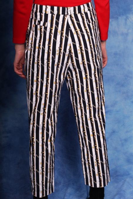 Vintage wzorzyste  jeansy z...