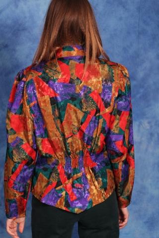 Vintage kolorowa wzorzysta...