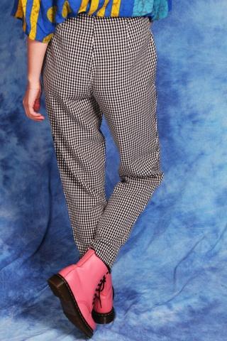 Vintage spodnie print w...