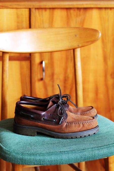 Vintage skórzane buty CAMEL...